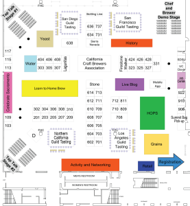 Map of the Show Room