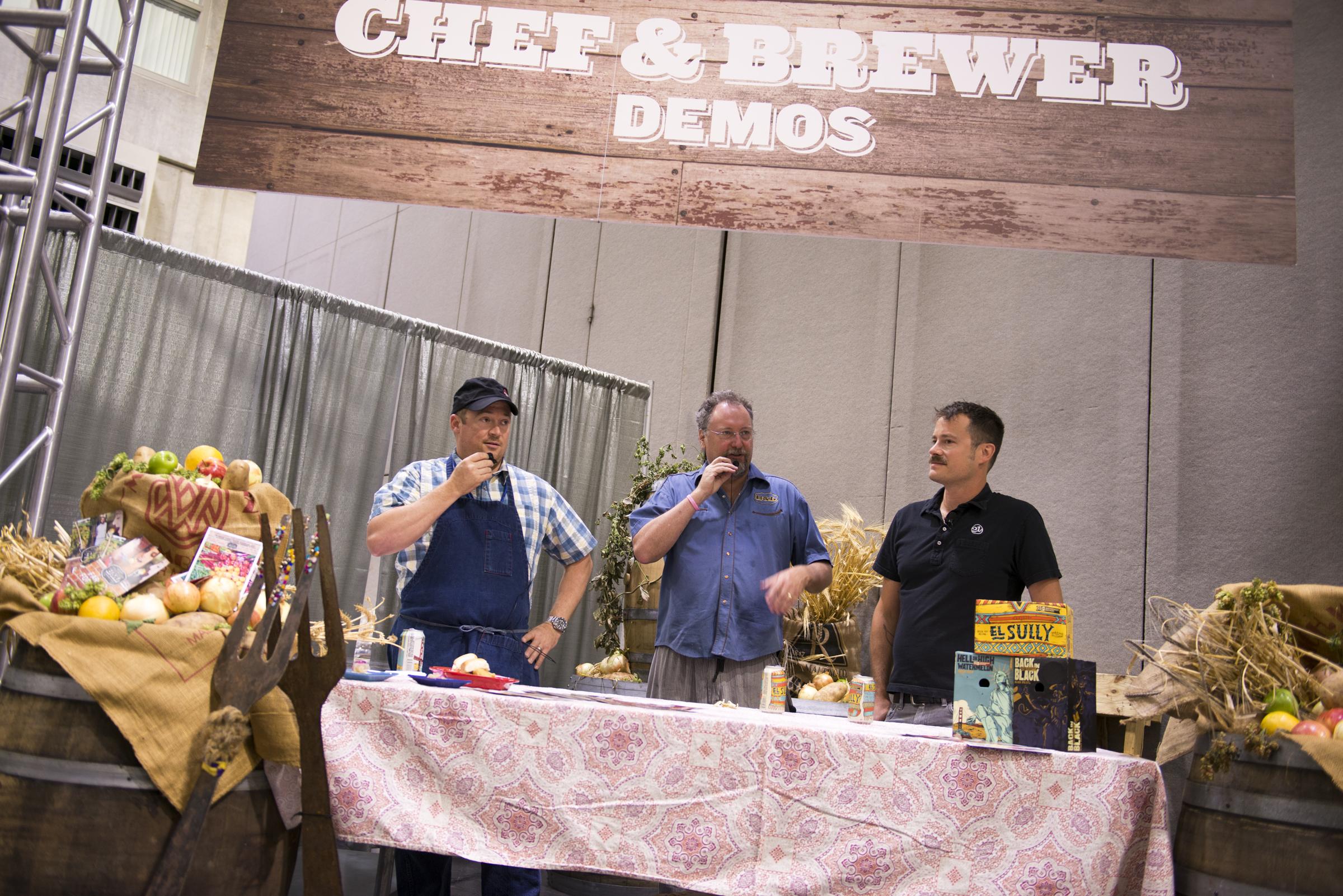 At the Summit: Artisan Food and Beer Pairings
