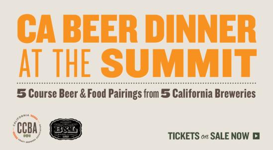 Summit Craft Beer Dinner: Beer Pairings Announced