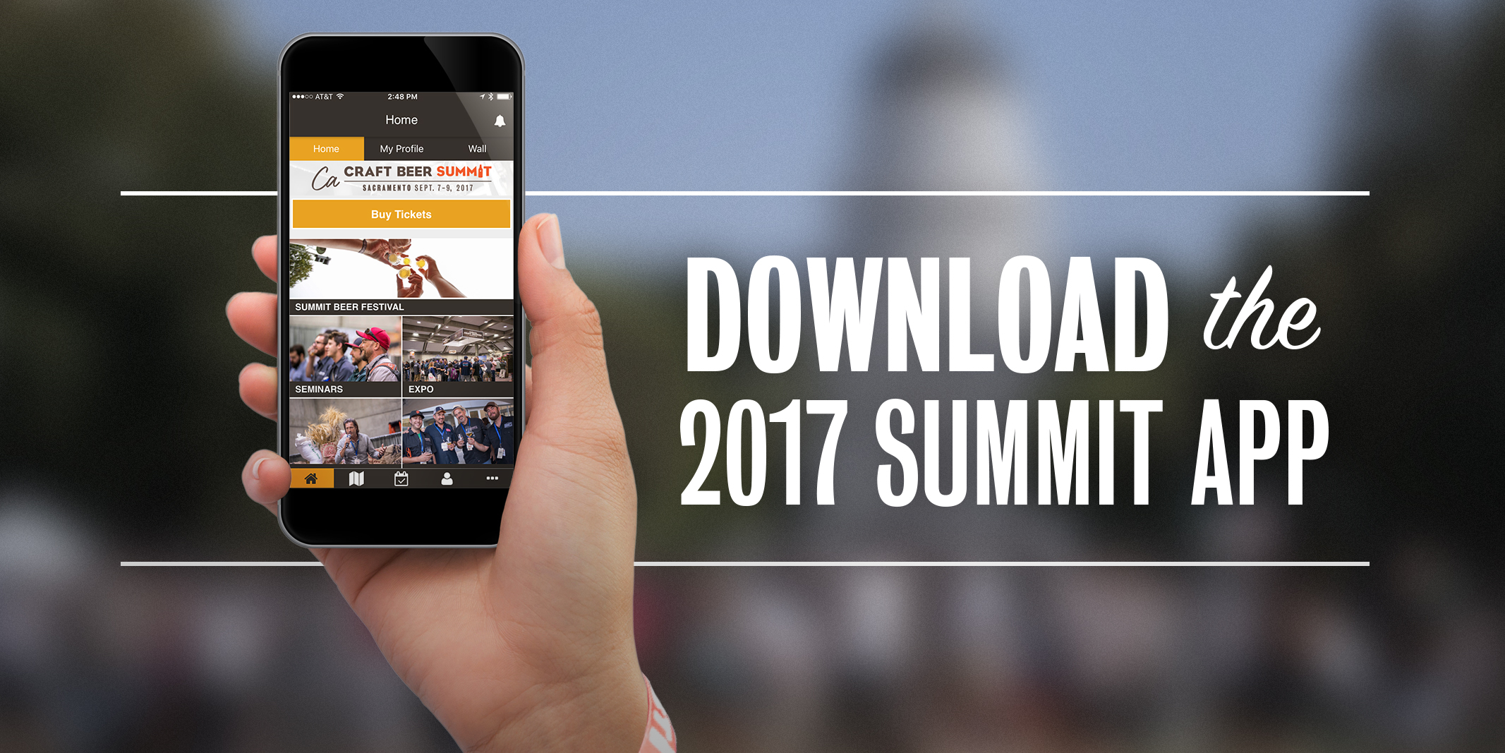Just Launched! 2017 California Craft Beer Summit Mobile App