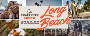an advertisement for the next beer summit in Long Beach, CA on September 12, 2019