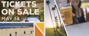 A banner graphic highlighting that tickets for the CCBA Beer Summit are on sale May 14th, 2019