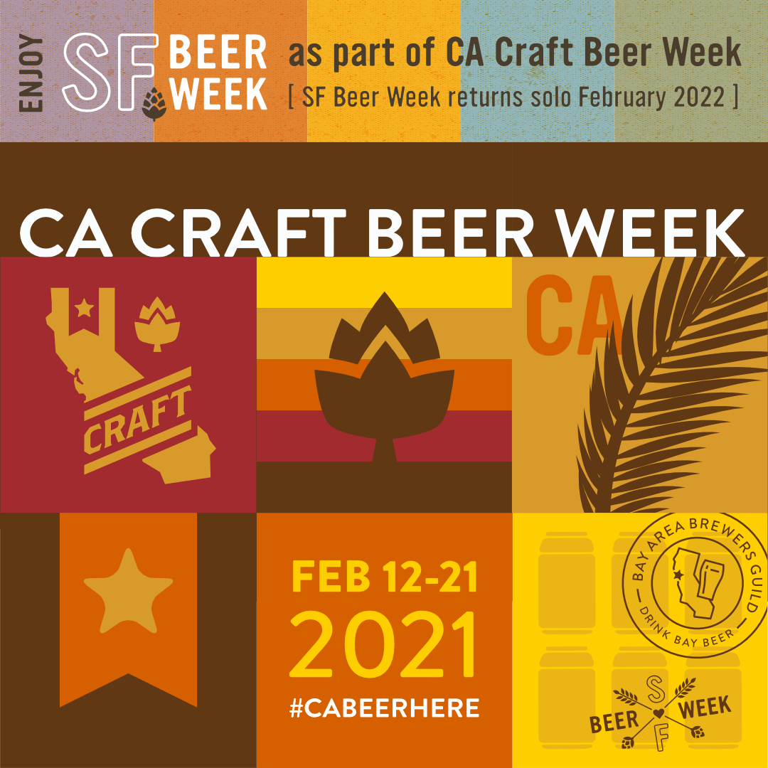 California Craft Beer Week Coming February 2021